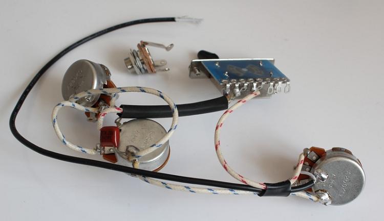 Strat Wiring HarnessAlpha pots 250KRed Capacitor 0.022UFfor Strat 3 Single Coils : strat wiring harness - yogabreezes.com