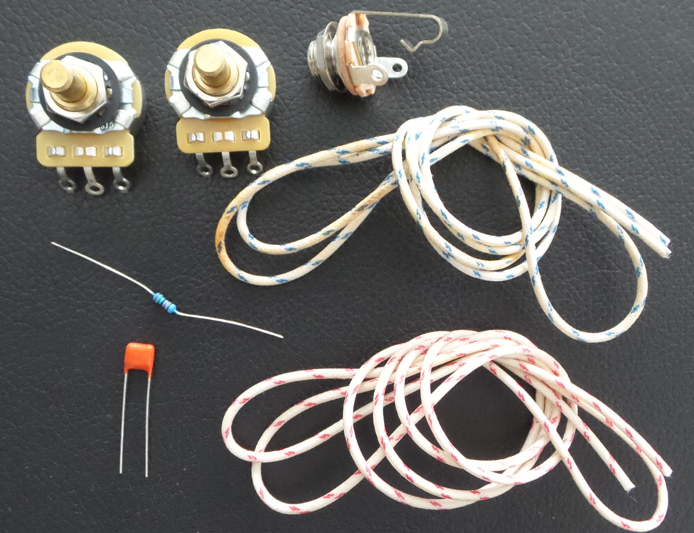 wiring kit for fender 51 p bass cts a250k capacitor. Black Bedroom Furniture Sets. Home Design Ideas