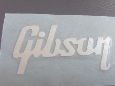 Mop logo for gibson stickerles paul custom new