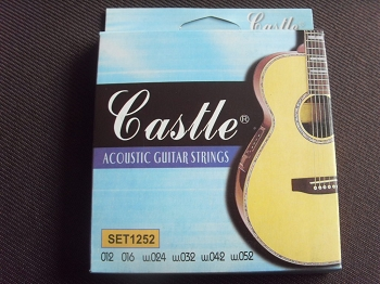 1set castle brand acoustic guitar string 1252. Black Bedroom Furniture Sets. Home Design Ideas