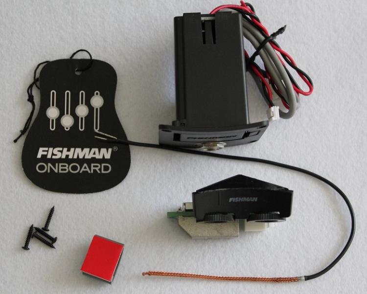 fishman ukulele sonitone model w sonicore pickup battery bag and end pin. Black Bedroom Furniture Sets. Home Design Ideas