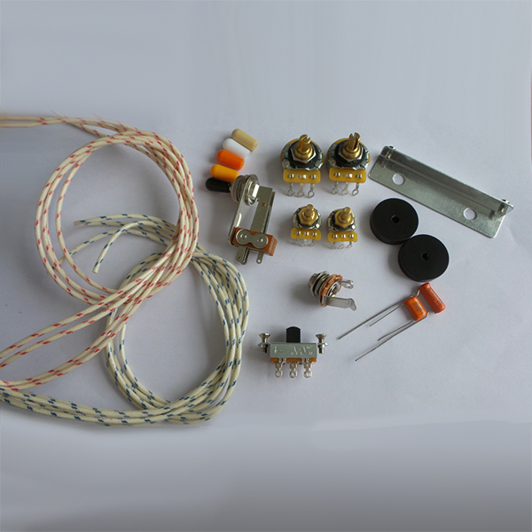Wiring Kit,for Jazzmaster custom,CTS Pots,Slide Switch,Right Angle ...