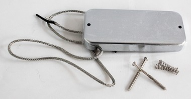 Thunderbird Bass Pickup Vintage Style for Gibson,Chrome/Nickel