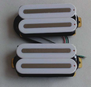 artec hxtn hot rail humbucker pickups,white with nickel ... 2wire wiring diagram hot rod