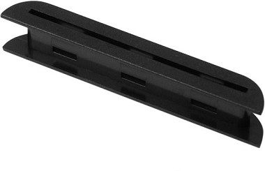 Tele Bridge Pickup Blade Bobbin Black