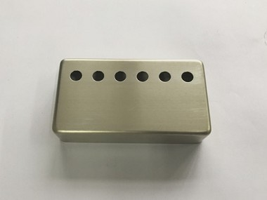 "Raw(No Plated) Humbucker pickup cover,String spread:2-1/16""(52mm),Height 16mm,fits Genuine Gibson Bridge Pickup,Nickel Sliver Material"