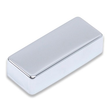 Mini Humucker Pickup Cover Chrome,Brass Material