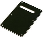 3Ply Black Standard Back Plate Tremolo Cover for Fender,#AA048