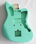 Jazzmaster Guitar Body,Alder Wood,Surf Green Gloss Finish