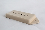 50mm String Space,Dog Ear style pickup cover,Ivory color,#PC-406