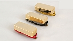 Gold,Mini Humbucker pickup,Ceramic,Neck/Middle/Bridge