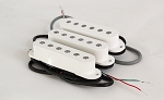 Noiseless Strat Pikcup,White Cover,Alnico,Neck/Middle/Bridge