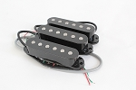 Noiseless Strat Pikcup,Black Cover,Alnico,Neck/Middle/Bridge