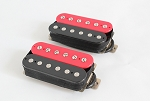 Red/Black Color Pickup,Alnico-V,4 conducts
