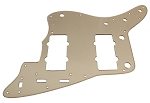 '62 Jazzmaster Pickguard,Gold Mirror,Fits USA Fender