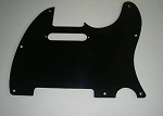 New Bakelite Pickguard,Rounded Top Edge,8 holes,fits Fender Standard Tele pickguard
