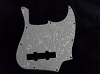 NEW 3 Ply White Pearl American Standard Jazz Bass Pickguard