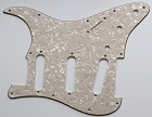 Stratocaster '62 pickguard 3ply Cream Pearl fits fender new