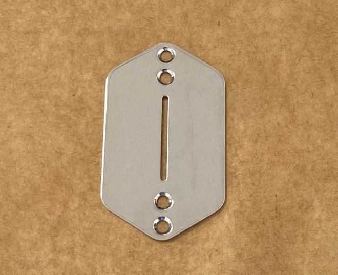 NEW CHROME Lower Switch Plate For Fender Jaguar