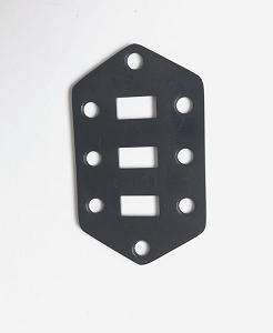 Small Slide Switch plate,for Fender Jaguar,Black Finish
