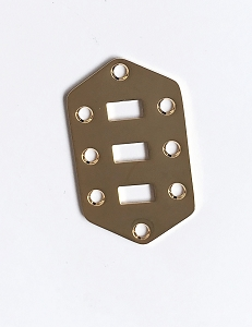 Small Slide Switch plate,for Fender Jaguar,Gold Finish