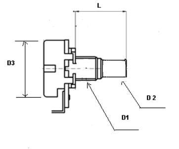 B1M Roller Potentiometer,pots,small Size,Linear Taper,1 Meg,for Fender on