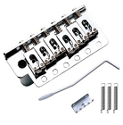 Chrome,Strat Tremolo Gutiar Bridge Tail,10.8mm string space,with full square block,ABBQ-102CR