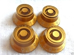 4 *Gold Guitar Bell Knob for Les Paul,SG,335 NEW,Inch size