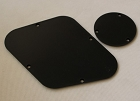 New Les Paul Control Plate with toggle switch back plate cover plate fits Genuine USA Gibson Les Paul Black