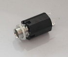 New Black Mono 1/4 Jack Socket,Long size