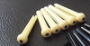 1 Set,Acoustic Bridge Pin w/dot Ivory Color