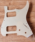 Clear,Transparent pickguard,Strat HH pickguard
