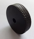 2pcs,Black Roller knob,fit Fender USA Jazzmaster & Jaguar, pot hole diameter 4mm