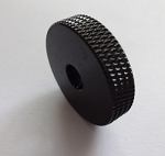 2pcs,Black Roller knob,fit Fender Japan Jazzmaster & Jaguar,pot hole diameter 6mm