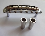 Chrome Mustang  style bridge,fit Fender Mustang  Jazzmaster Jaguar 9.5