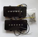 Black cover Pickup,Alnico,Neck and Bridge for Fender Jazzmaster