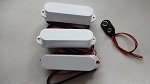 Artec Active Pickup,SMDC35,White,Neck/Middle/BridgeZ(Active)