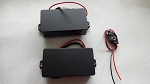 Artec Active Pickup,Black Cover,Humbucker Neck/Bridge(Active)