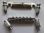 New Chrome Tune-O-Matic Bridge Tail for Les Paul guitar,12 strings,for arch top body