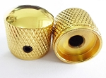 2Pcs*Gold Solid Metal Dome Top Knob,Screw style,Big Size