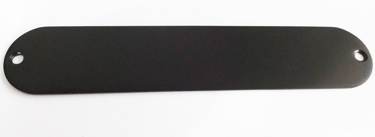 Tele Control Plate .080 thickness NO HOLE Chrome