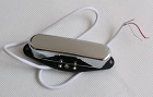Telecaster neck Pickup,Alnico-V,2 conducts with shield(3 Wires),Chrome