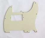Mint Green 3 ply,Tele humbucker cut-out pickguard 8-hole mounting
