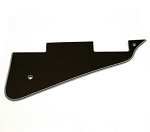 5 ply black pickguard fits Gibson Les Paul Standard, Studio, and Custom,#AA010