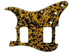 NEW Yellow Tortoise Shell,Strat 2H(HH) pickguard for Fender,#U020