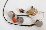 Strat Wiring Harness,Alpha pots 250K,Quality Switch,Orange Drop Capacitor 0.022UF,for Strat 3 Single Coils