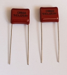 PK2* Red 503J, 0.05UF,250V,capacitor, Quality