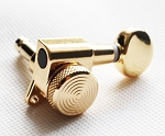 Locking Nut, Gold Machine Head Tuner, 6 inline Strat Tele Neck,#JN-05LOKGD