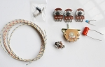 Wiring Kit,for Strat custom,Alpha A250K pot,Quality Level Switch,Orange 0.022 capacitor and volume kit,Wire,#WK-ST61