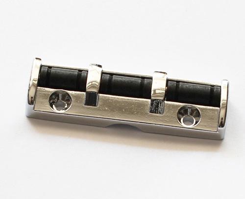 chrome metal roller locking nut upgrade electric guitar 43mm. Black Bedroom Furniture Sets. Home Design Ideas